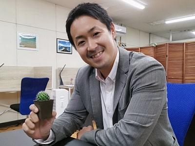 宮入先生の写真